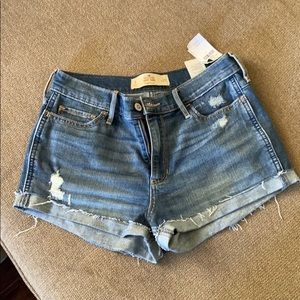 Hollister short short high rise shorts